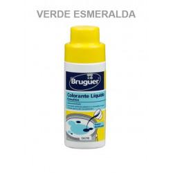 Tinte Concentrado Pinturas Al Agua Verde Esmeralda 50ml Emul