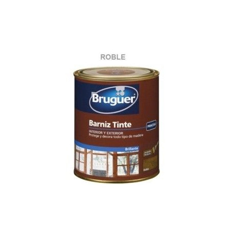 Barniz Tinte Sintetico Brillante Roble 750ml