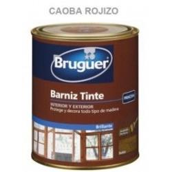 Barniz Tinte Sintetico Brillante Caoba Rojizo 750ml