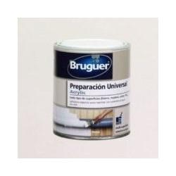 Preparacion Universal Acrilico Al Agua Blanco 250 Ml