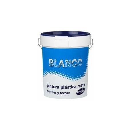 Comprar pintura plastica mate blanco interior 4l bruguer - Precio pintura plastica interior ...