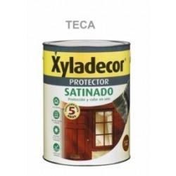 Protector Para Madera Satinado Teca 750 Ml Xyladecor