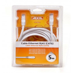 Cable Ethernet Rj45 Cat 6 5m Av0182e