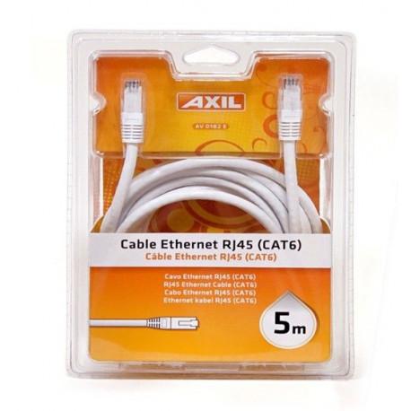 Cable Ethernet Rj45 Cat 6 5m Av0182e