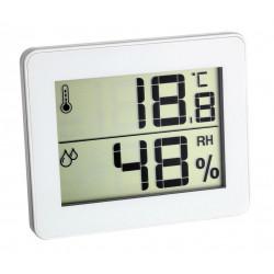 Termometro-higrometro Ultrafino Con Memoria 30,5027,02