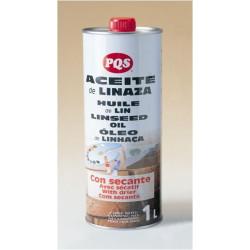 Aceite Linaza Con Secante 1 Litro 1-1510-10 Unidad