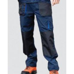 Pantalon Multi 65pol./35alg. Marino/negro Top Range T-xl