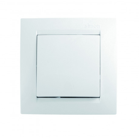 Interruptor-conmutador Unipolar  Blanco Simon 15 F1590201030