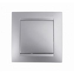 Interruptor-conmutador Unip. Aluminio Simon 15 F1590201026