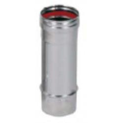 Tubo Estufa Simple Pared 250mm Diam.80 P/calderas Condensa.