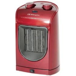 Calefactor Ceramico Oscilante 230v. Color Rojo