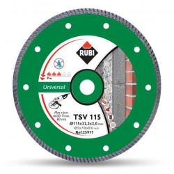 Disco Diamante Turbo General Obra 115mm Basic Line Tsv 115
