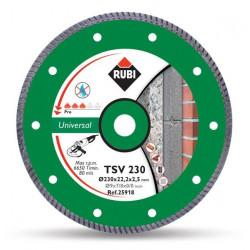 Disco Diamante Turbo General Obra 230mm Basic Line T230-bl