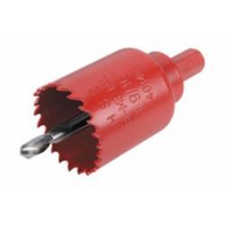 Corona Perforadora Bimetal 35mm Con Adaptador Y Broca Piloto