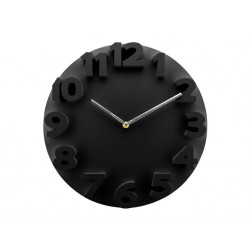 Reloj Plastico Relieve 9100230 Dekora Import