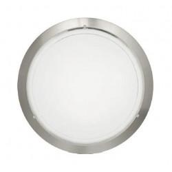 Plafon Cristal Blanco Niquel Mate Planet 1 83162
