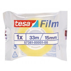 Cinta Adhesiva Standard De Uso General 15mmx33m Tesafilm