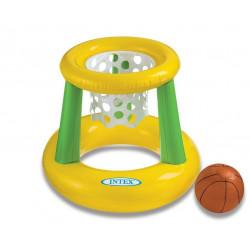 Canasta Baloncesto Hinchable Para Piscina 67x55cm