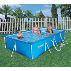 Piscina Portatil 399x211x81cm 5.700lt Splash Frame Pools