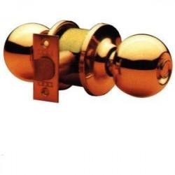 Pomo 3905 Fun.paso Picaporte Unificado 60/70mm Laton Puli
