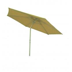 Parasol Aluminio 2,70mt Beige Con Rotacion Superior