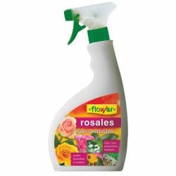 Fungicida Enfermedades De Los Rosales Listo Uso 750ml Flower