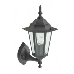 Aplique Ilumin Ascend. Ext E27 60w Met Ne Orlando Luxform