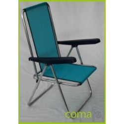 Hamaca Fibreline Aluminio Azul 367alf-0030