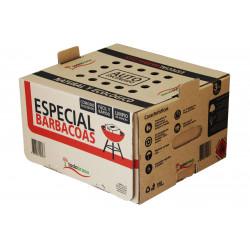 Leña Encina Especial Barbacoa Caja Autoencencido 3kg