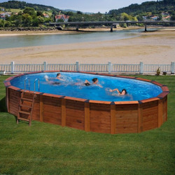 Piscina desmontable HAWAII 750 x 425 x 132 cm KITNPOV731
