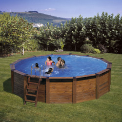 Piscina desmontable HAWAII Ø 500 x 132 cm KITNP461