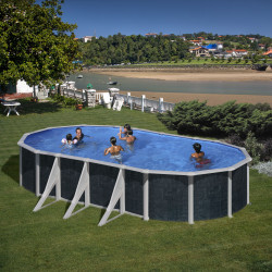 Piscina desmontable JAVA 730 x 375 x 120 cm KIT730NRT