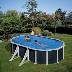 Piscina desmontable JAVA 500 x 300 x 120 cm KIT500NRT