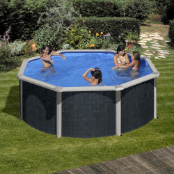 Piscina desmontable JAVA Ø 350 x 120 cm KIT350NRT