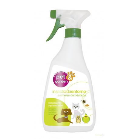 Insecticida Entorno Perros/gatos Pistola 1-40572 Flower