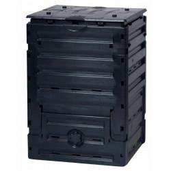Compostador 300lt Negro H/l/a 60x60x90