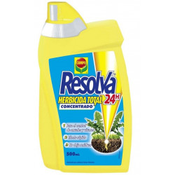 Herbicida Total Concentrado 500 Ml Resolva 24h Compo