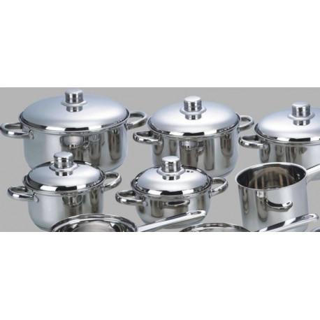 Bateria de cocina callaway inox 13pzas induccion - Baterias de cocina para induccion ...