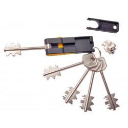 Bloque Seguridad Atra/mia 4 Llaves+1 Plegable 92mm