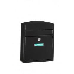 Buzon Exterior Acero Mod.compact Negro E5734 Arregui