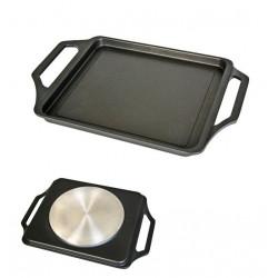 Plancha Asar Band 37x25cm Lisa C/asa Al/fu Ecostone Cookware