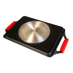 Plancha Asar Band 43x25cm Lisa C/asa Al/fu Ecostone Cookware
