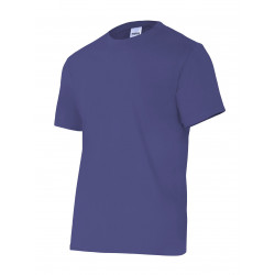 Camiseta Algodón Manga Corta Sin Bolsillo Azul Marino T-xl