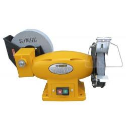 Esmeriladora Banco 450w Combinada Muela 150-200mm Ay-150-200