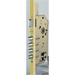 Cerradura Seguridad 1 Punto Oro Mate 1049-r
