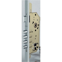 Cerradura Seguridad 1 Punto Inox 1049-r