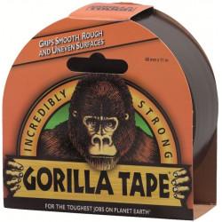 Cinta Americana Gorilla Negra 11mtx48mm Tricapa Doble Grosor