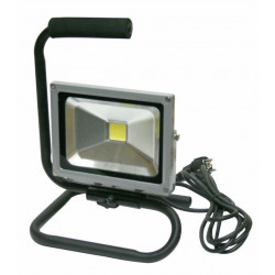 Proyector Led Alta Luminosidad Ip65 20w Con Base + 3m Cable