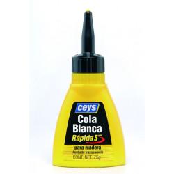 Cola Blanca  Para Madera Rapida  Biberon 75gr 501612 Ceys