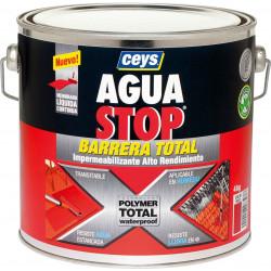 Impermeabilizante Polimero Liquido Gris 4kg Aguastop Ceys